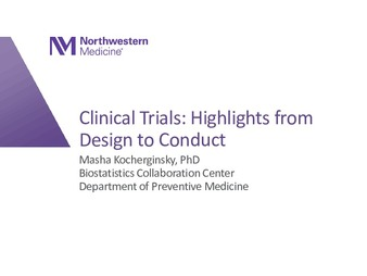Download the full-sized PDF of Clinical Trials: Highlights from Design to Conduct