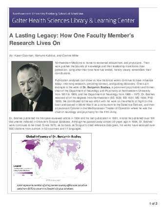 Download the full-sized PDF of Lasting Legacy: How One Faculty Member's Research Lives On (A)