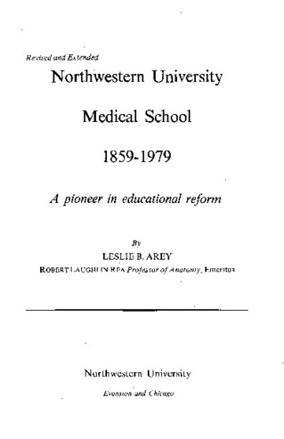 Download the full-sized PDF of Northwestern University Medical School 1859-1979